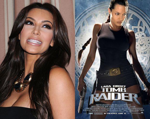 Kim chce zagrać Larę Croft!