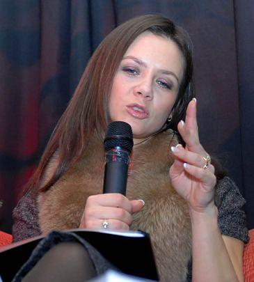 Kinga Rusin ekologiczna na pokaz
