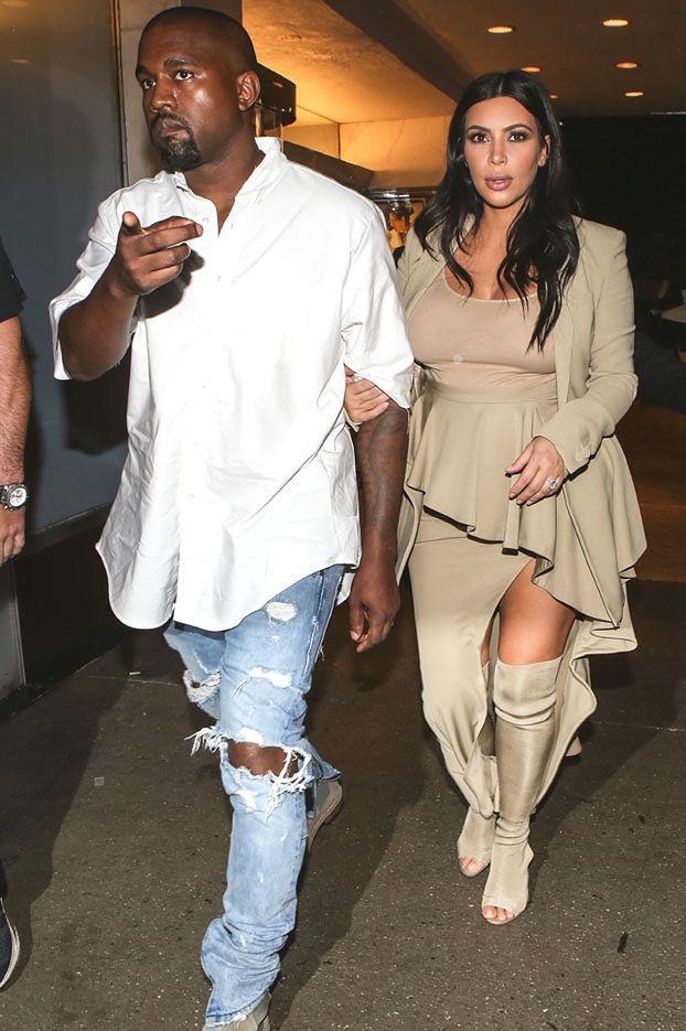 Syn Kim i Kanye'go urodzi się w... Boże Narodzenie?!