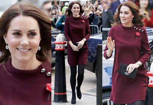 Ciężarna Kate Middleton w skromnej stylizacji za 45 tysięcy