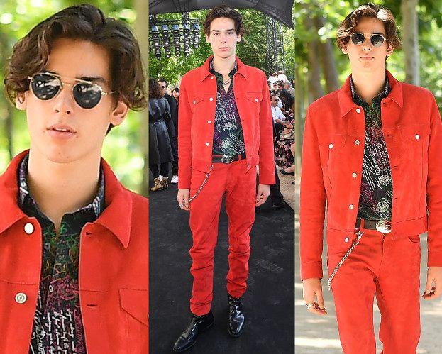Syn Pierce'a Brosnana lansuje się na paryskim pokazie mody