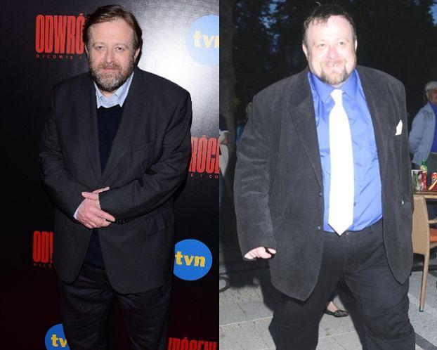 Olaf Lubaszenko schudł 60 kilogramów. W pięć lat