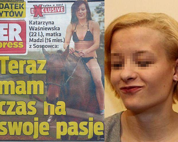 """Fakt: """"Waśniewska UKRYWA SIĘ U BOGATEGO MĘŻCZYZNY!"""""""
