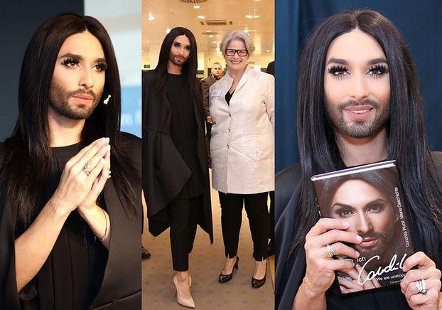 Conchita Wurst promuje swoją biografię! (ZDJĘCIA)