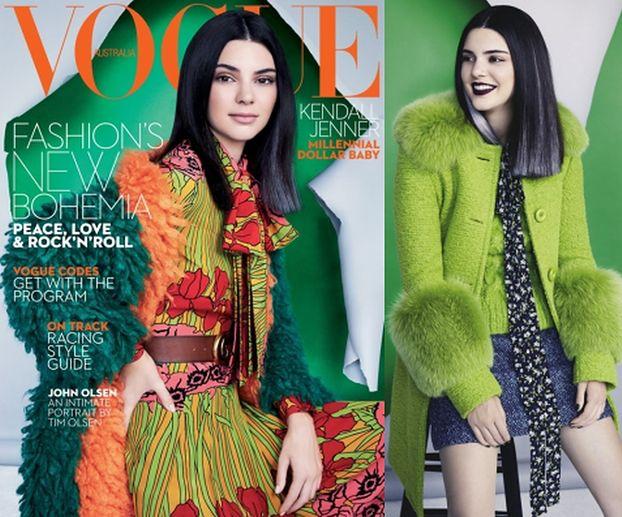 """Kendall Jenner w sesji dla australijskiego """"Vogue'a"""""""