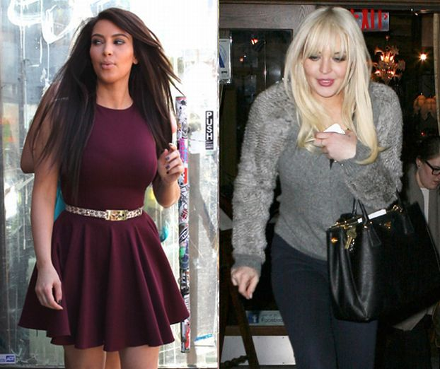 """Kardashian i Lohan """"najbardziej przereklamowanymi"""" gwiazdami!"""