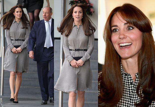 Księżna Kate w nowej fryzurze! (ZDJĘCIA)