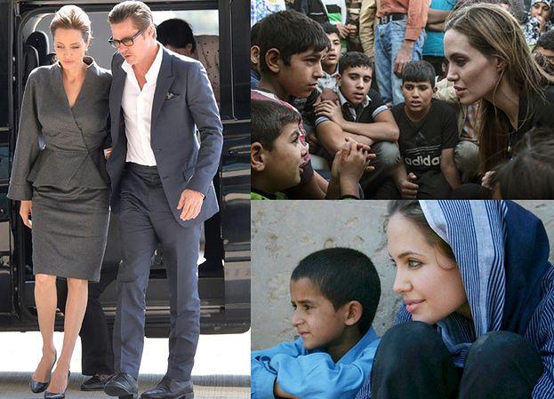 """Angelina i Brad ADOPTUJĄ CHŁOPCA Z SYRII? """"Chcą dać przykład innym"""""""