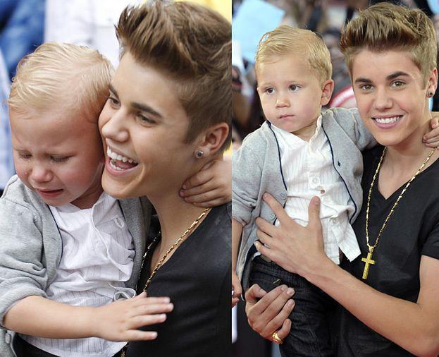 Justin Bieber promuje 2-letniego brata!