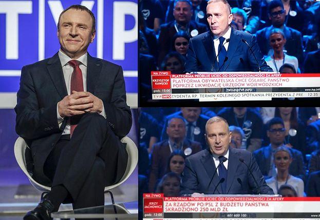 """TVP relacjonuje konwencję Platformy Obywatelskiej: """"Próbuje uciec od odpowiedzialności za afery!"""""""