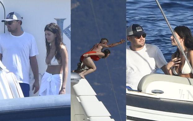 Leonardo DiCaprio i Sean Penn imprezują na jachcie z młodymi dziewczętami (ZDJĘCIA)