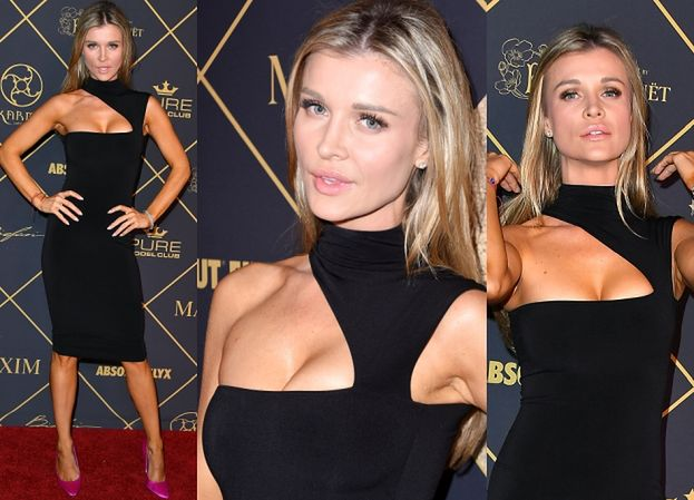 """Joanna Krupa wypina opalony biust na imprezie """"Maxima"""" (ZDJĘCIA)"""