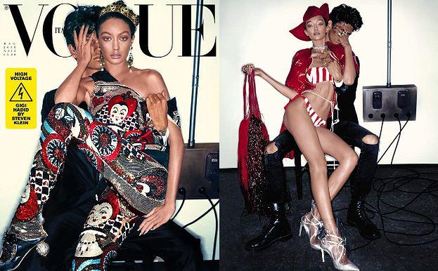 """Opalona Gigi Hadid w głośnej sesji dla włoskiego """"Vogue'a"""""""