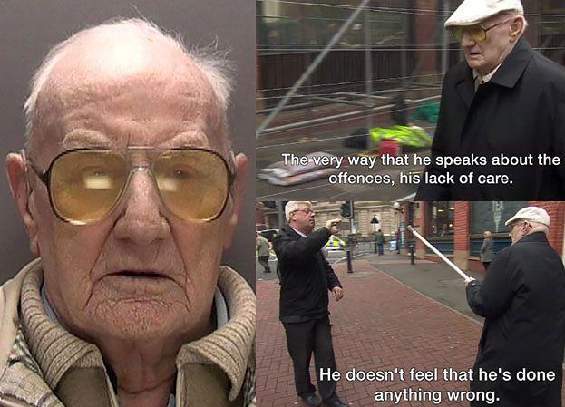 101-letni pedofil trafił do więzienia! Ralph Clarke zgwałcił 7-latkę