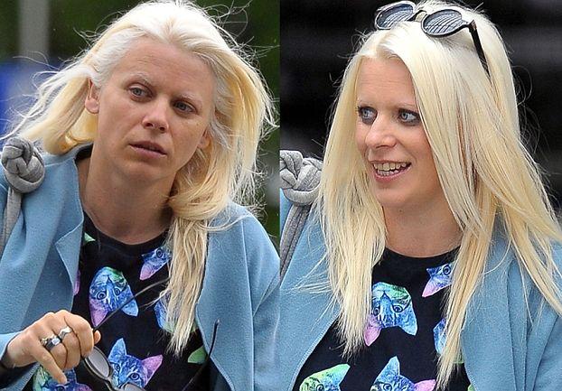 Sadowska bez makijażu: przed i po (ZDJĘCIA)