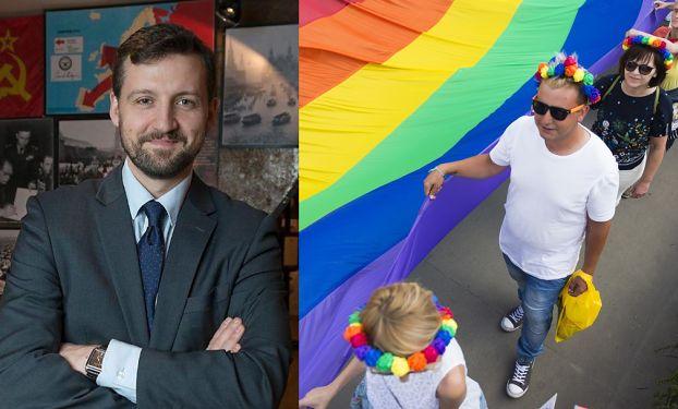 """Syn Haliny Frąckowiak protestuje przeciwko """"strefie dzieci"""" na Paradzie Równości. """"Czy to otwarcie drzwi dla """"edukatorów"""" LGBT?"""""""