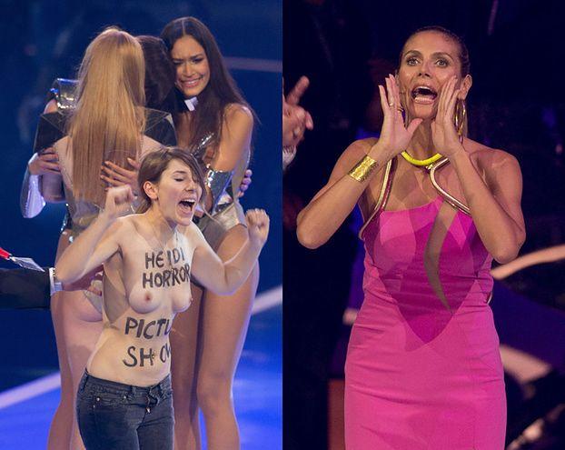 """NAGIE PIERSI w finale niemieckiego """"Top model""""! (FOTO)"""
