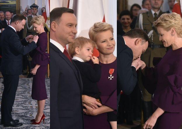 Andrzej Duda odznaczył Kożuchowską Krzyżem Odrodzenia Polski! (ZDJĘCIA)