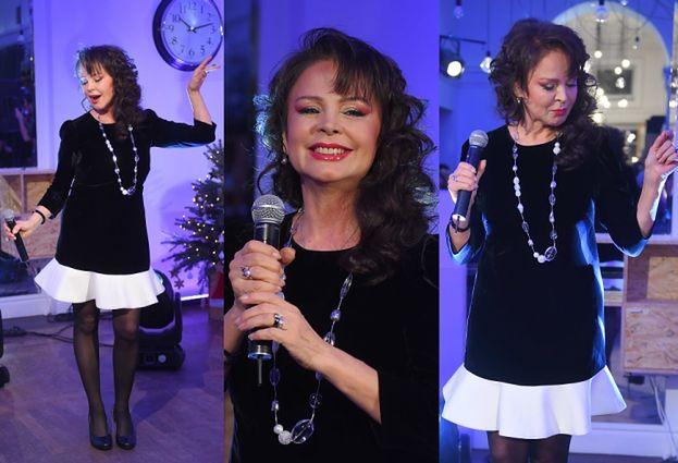 Izabela Trojanowska śpiewa na koncercie charytatywnym (ZDJĘCIA)
