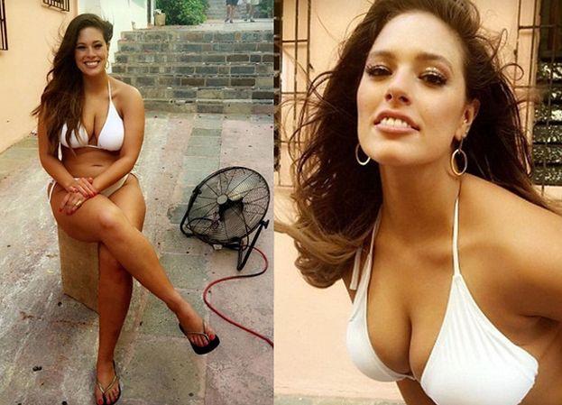 Modelka XXL chwali się ciałem w bikini (ZDJĘCIA)
