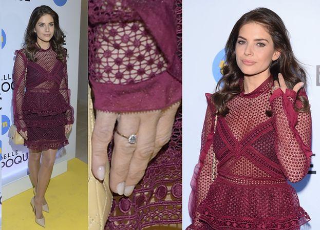 """Rosati pokazała pierścionek zaręczynowy na premierze """"Belle Epoque""""! (ZDJĘCIA)"""