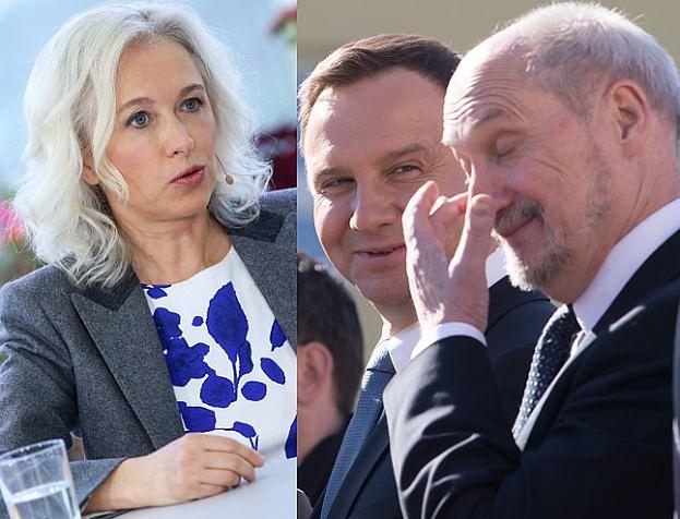 """Gretkowska o Andrzeju Dudzie: """"Jest ministrantem, służy do czarnej mszy!"""""""