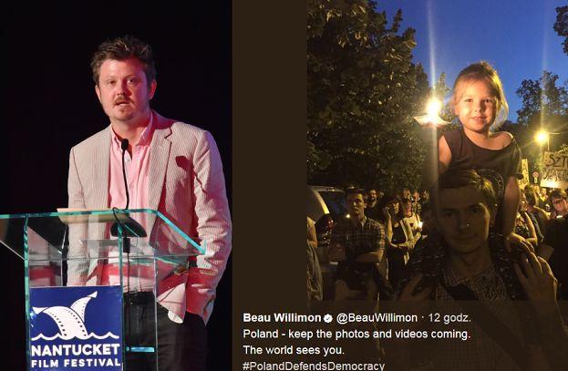 """Scenarzysta """"House of Cards"""" przyłącza się do polskich protestów: """"Walczymy z wami, gdy WALCZYCIE Z DYKTATOREM!"""""""