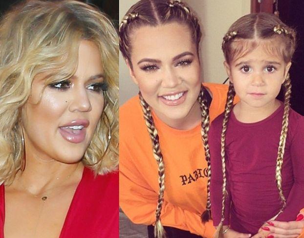 Khloe Kardashian przedłużyła włosy 3-letniej siostrzenicy!