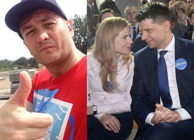 """Biedroń udzieli ślubu szefom Nowoczesnej: """"Chętnie połączę Ryszarda Petru i Joannę Szmidt"""""""