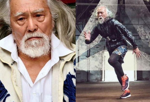 """""""Najgorętszy dziadek Chin"""" został twarzą Reeboka"""