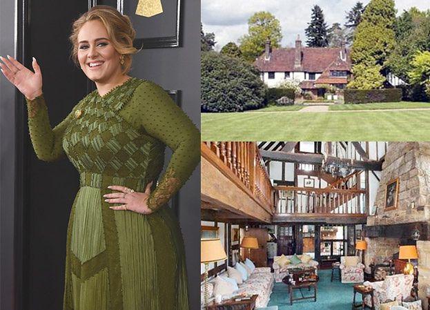 """Adele kupiła willę za 4 MILIONY funtów! """"Chce żyć jak najdalej od show biznesu"""" (ZDJĘCIA)"""