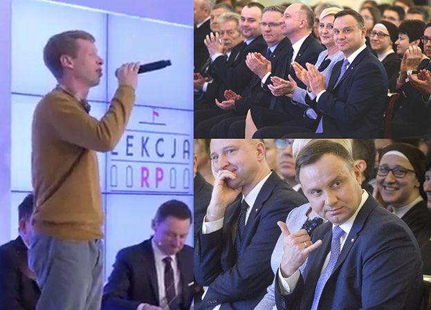 """Patriotyczny Raper: """"Wyj*bane na pedalstwo, które niszczy tą ojczyznę"""". Zaproszono go do Pałacu Prezydenckiego!"""