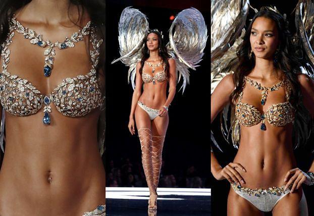 """""""Aniołek"""" Victoria's Secret w """"fantasy bra"""" za 8 MILIONÓW"""
