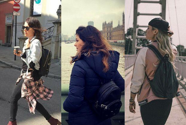 Stylowe plecaki damskie - jakie wybierają gwiazdy?