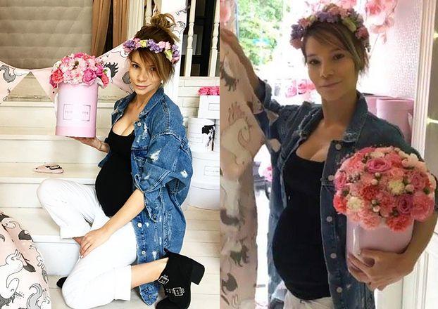 Maja Bohosiewicz pokazała ciążowy brzuszek i... reklamuje kocyki! (FOTO)