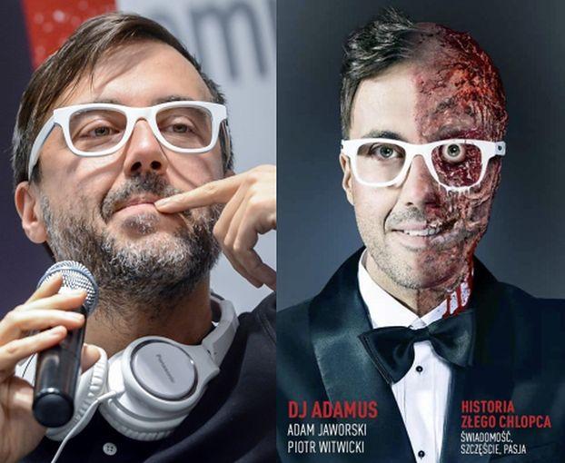 """DJ Adamus też został """"pisarzem"""". """"Uwielbiam czuć władzę nad tłumem tańczących w rytm mojej muzy"""""""