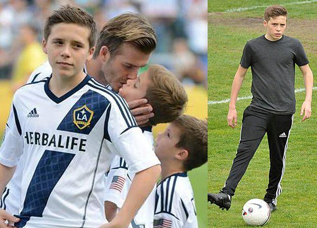 """Brooklyn Beckham zrezygnował z kariery piłkarza? """"ZŁAMAŁ MI SERCE"""""""