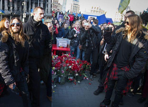 Jared Leto odwiedził Majdan! (ZDJĘCIA)