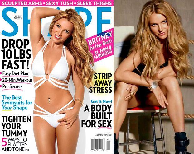 Britney chwali się figurą! Pomogli graficy?