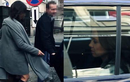 Kinga Rusin wsiada do samochodu z prywatnym kierowcą!