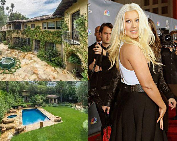 Aguilera kupiła dom za 30 milionów! PIĘKNY? (ZDJĘCIA)