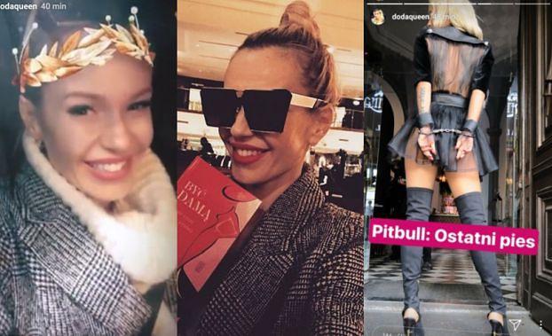 """Doda ekscytuje się z Emilem na Instagramie: """"JEST JEDNA KRÓLOWA MAFII"""""""