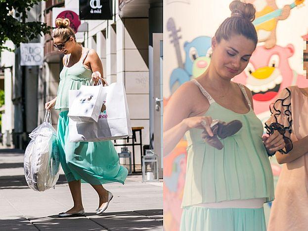 Socha wybiera ubrania dla dziecka! (FOTO)