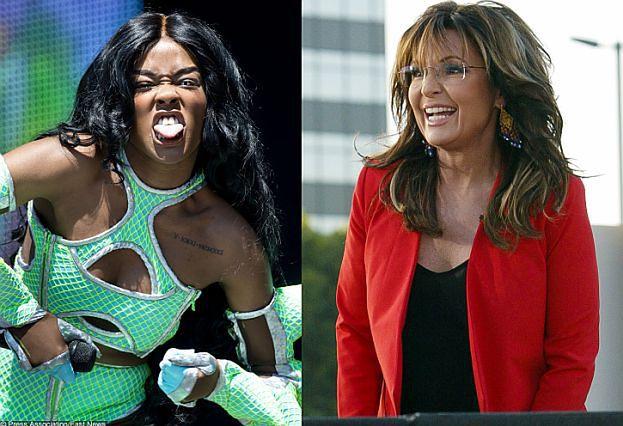 """Azealia Banks życzy Sarze Palin... ZBIOROWEGO GWAŁTU! """"Weźmy największe, najgrubsze, czarne..."""""""