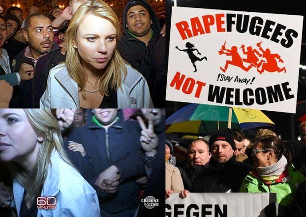 """Tajny dokument niemieckiej policji: Uchodźcy """"bawią się"""" w ZBIOROWE MOLESTOWANIE KOBIET!"""