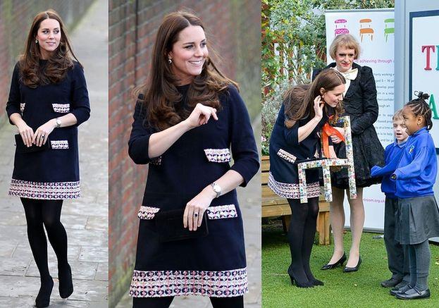 Księżna Kate w szóstym miesiącu ciąży! (ZDJĘCIA)