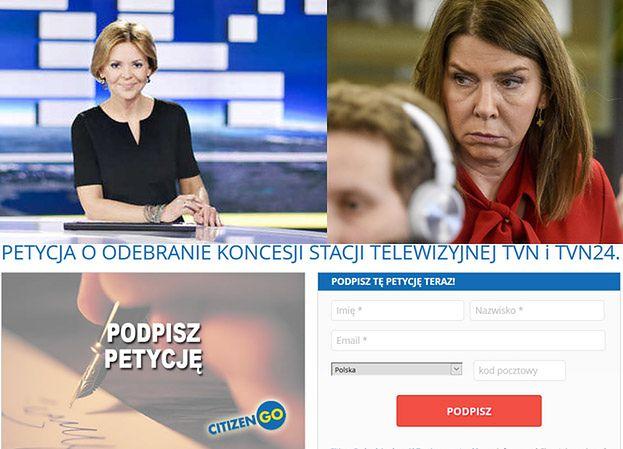 """KRRiT dostało 12 tysięcy petycji o cofnięcie koncesji TVN! """"Rozbija naszą narodową jedność"""""""