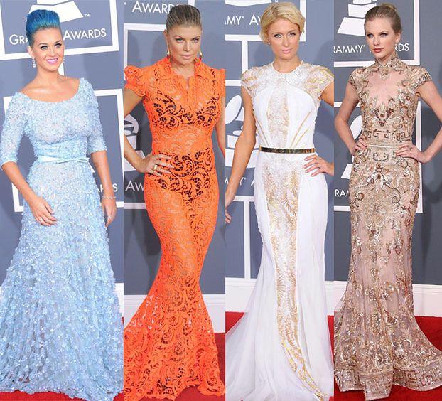 Suknie gwiazd na rozdaniu Grammy! (ZDJĘCIA)