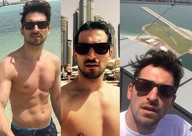 Maślak wyjechał do... Dubaju! (FOTO)