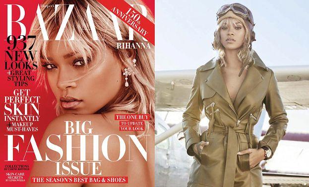 """Rihanna na okładce """"Harper's Bazaar"""""""